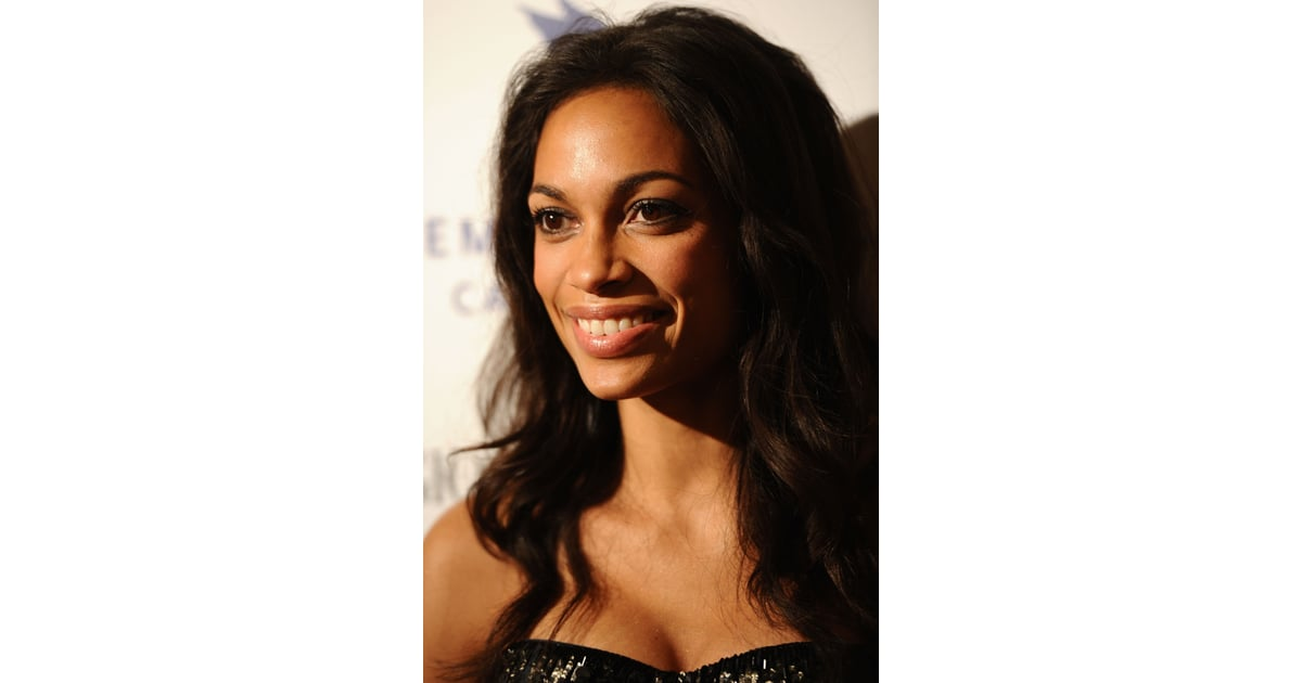 rosario dawson pictures of celebrity hair and makeup