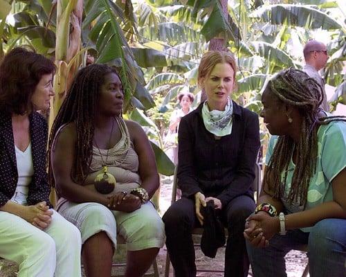 Nicole Kidman's UNIFEM Haiti Visit