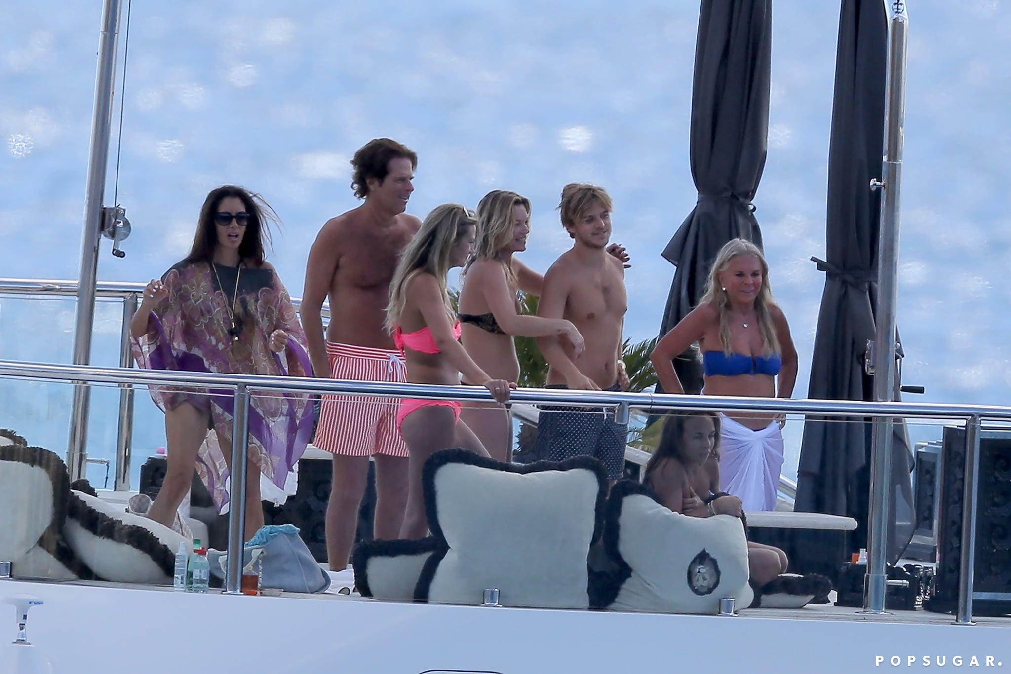 Bikini-Clad Kate Moss Is Having a Ball in St. Barts