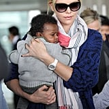 Charlize Theron adopted little Jackson this year and shared the exciting news in March.