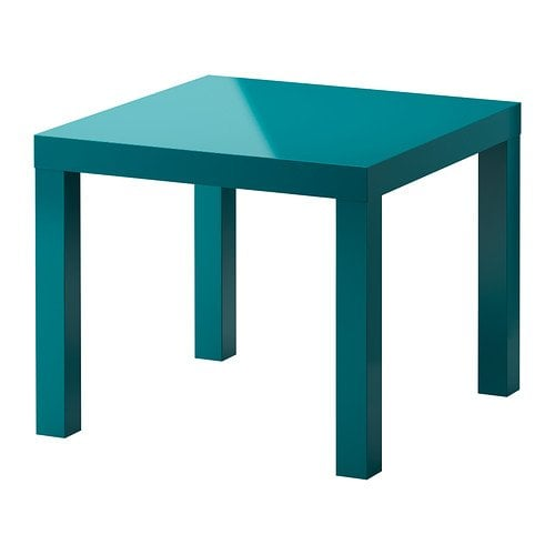 ikea lack side table high gloss turquoise ikea products from