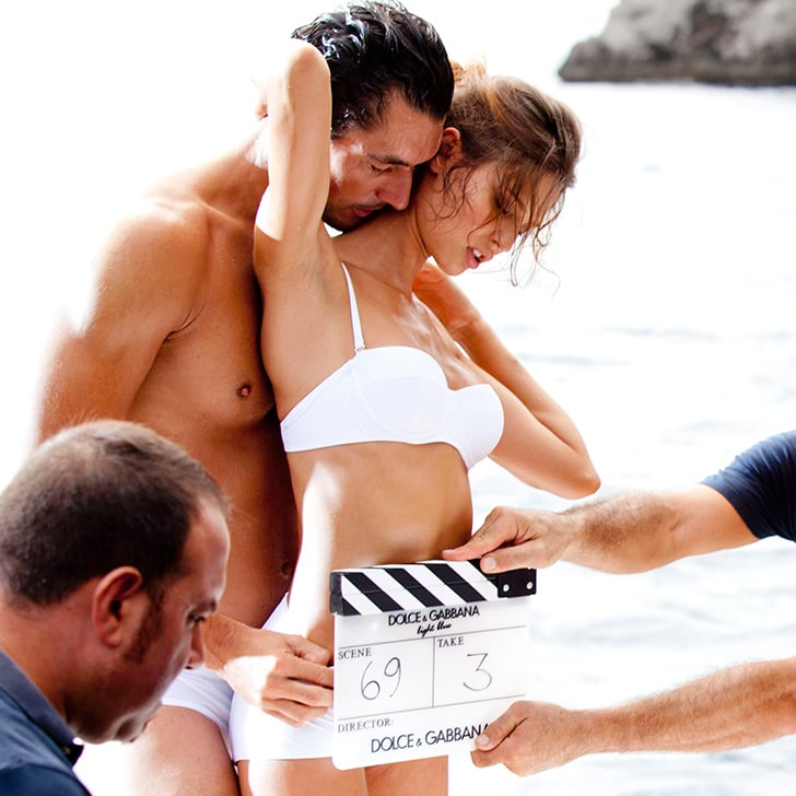 David Gandy and Bianca Balti Dolce & Gabbana Light Blue