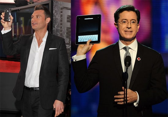 Photos of the iPad and Flip UltraHD at the 2010 Grammy Awards