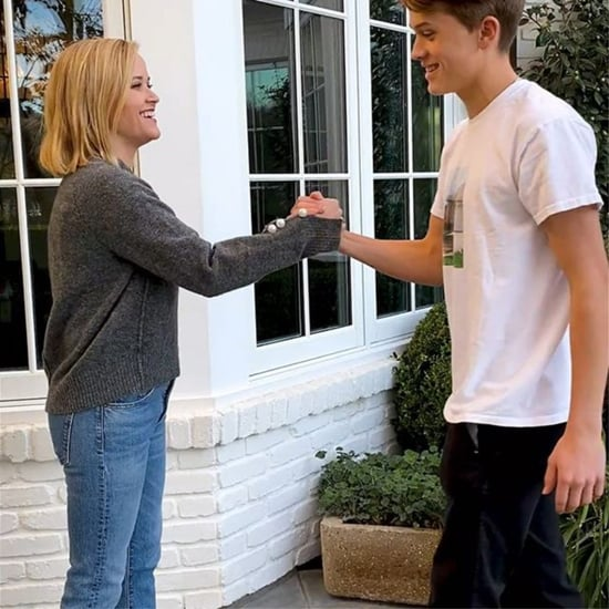 Deacon Phillippe Teaches Reese Witherspoon How to Dap