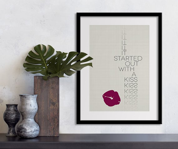 Mr. Brightside lyrics ($20-$90)