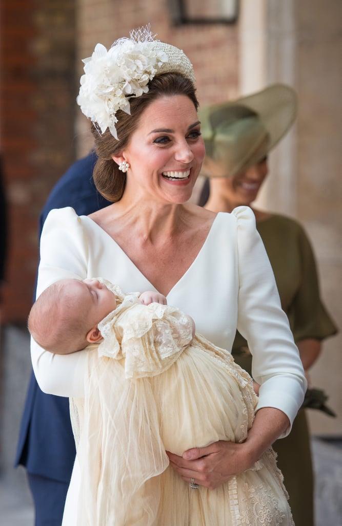 Kate Middleton's White Coat Dress Prince Louis's Christening