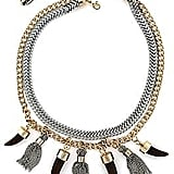 Nicole Miller Tassel Necklace