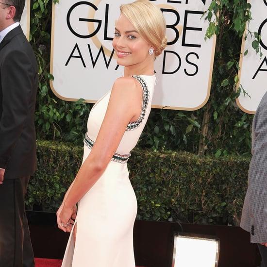 Margot Robbit at the 2014 Golden Globes