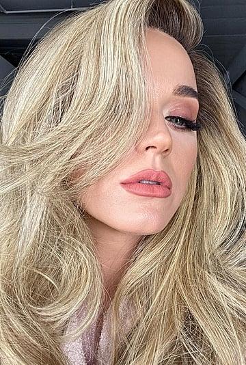 Katy Perry Debuts Glamorous Long Blonde Hair February 2020