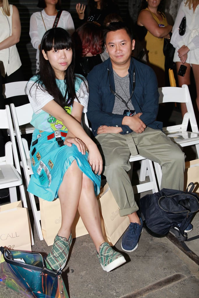 Susanna Lau and Tommy Ton at MBFWA Day Five