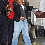 In 2009, Jen Exhibited Unexpected Coolness in Some Drop-Waist Denim