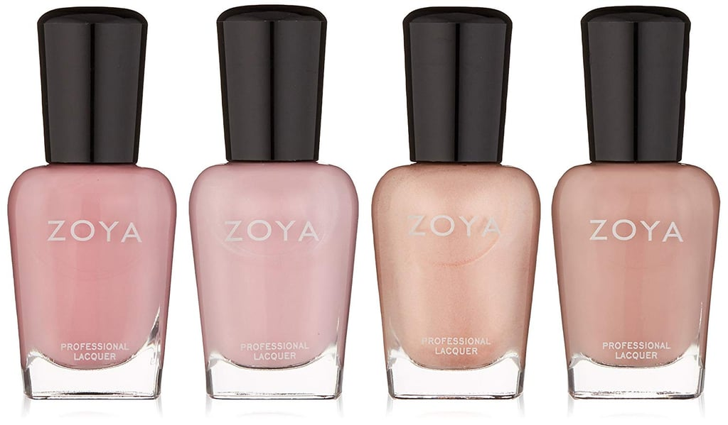 Zoya Polish Quad Nail Polish Set in Colors Zana, Caresse, Lauren, and Jill