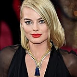 Margot Robbie's Van Cleef & Arpels Necklace in 2015
