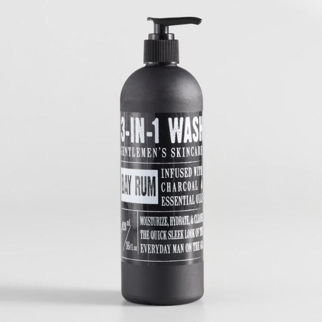 Bay Rum Gentlemen's 3-in-1 Wash