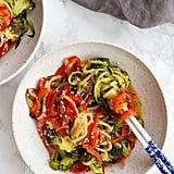 Teriyaki Zucchini Noodle Stir-Fry
