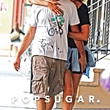 Leo Gets Showered With PDA on a Stroll With Toni