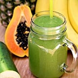 Pineapple Papaya Banana Debloating Smoothie