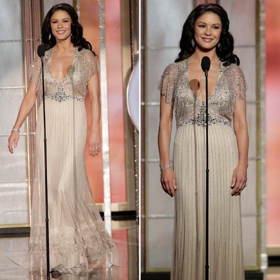Catherine Zeta-Jones | Golden Globes Red Carpet Fashion 2013