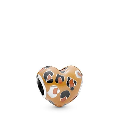 Pandora Spotted Heart Charm
