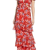 WAYF Lavina Tiered Maxi Dress