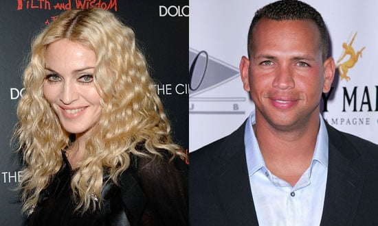 Photo of Madonna and Alex Rodriguez, Who Had a Secret Rendezvous at Jerry Seinfeld's House
