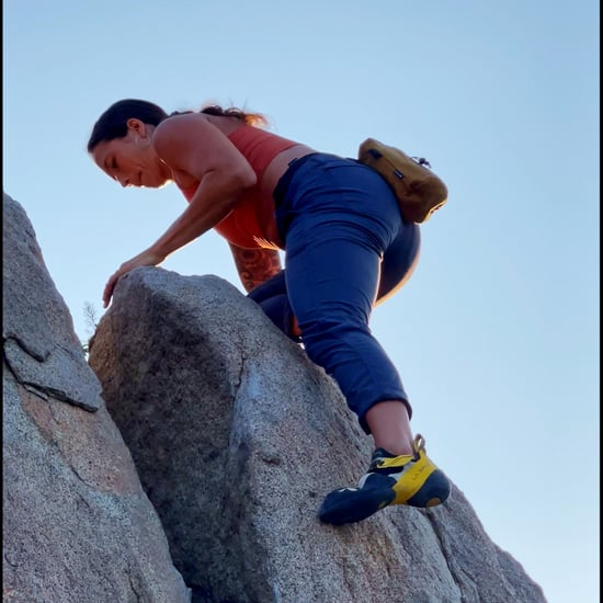 This Rock Climber Was Inspired By Her New Crew