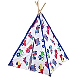 Kids Trains, Planes and Trucks Canvas Teepee
