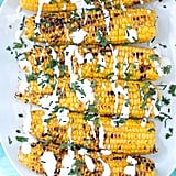 Grilled Corn With Yogurt-Lime Sauce