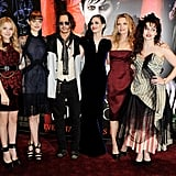 Johnny Depp at Dark Shadows London Premiere Pictures