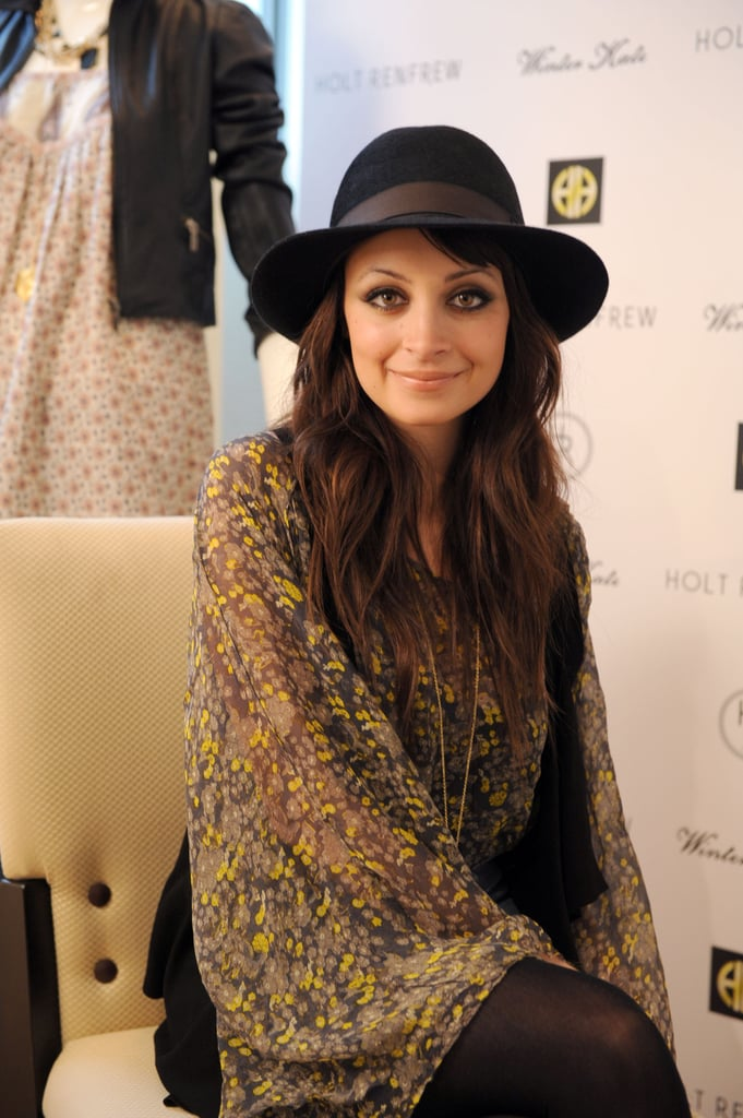 Photos of Nicole Richie Wearing Her Engagement Ring to an Autograph Signing in Montreal
