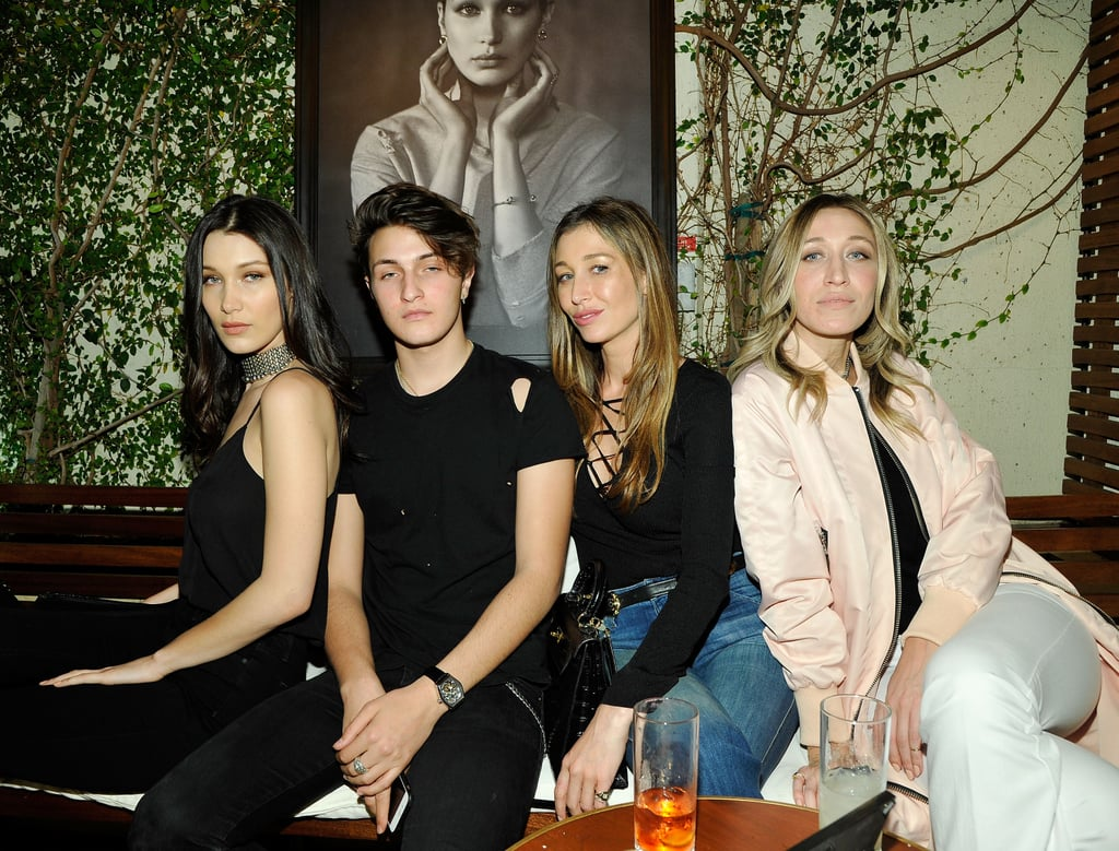 Pictures of Bella, Gigi, and the Whole Hadid Family