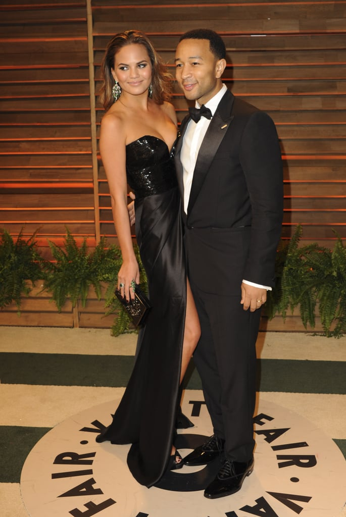 Chrissy Teigen and her husband, John Legend, looked incredible.