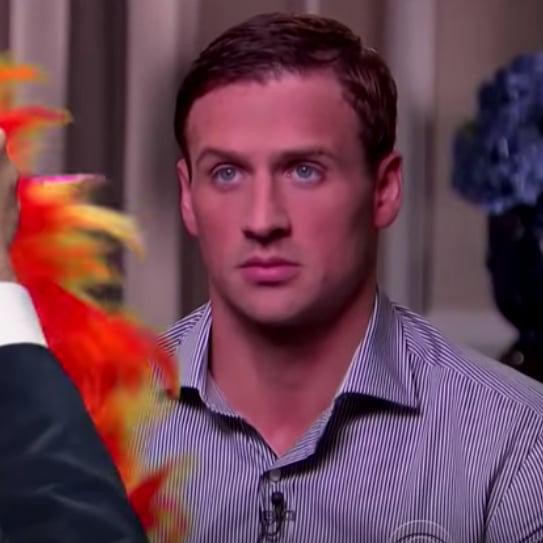 Stephen Colbert Ryan Lochte Spoof
