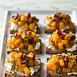 Giada De Laurentiis's Butternut Squash and Goat Cheese Tartines