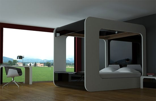 Hi-Can Canopy Bed for the Ultimate Film Buff