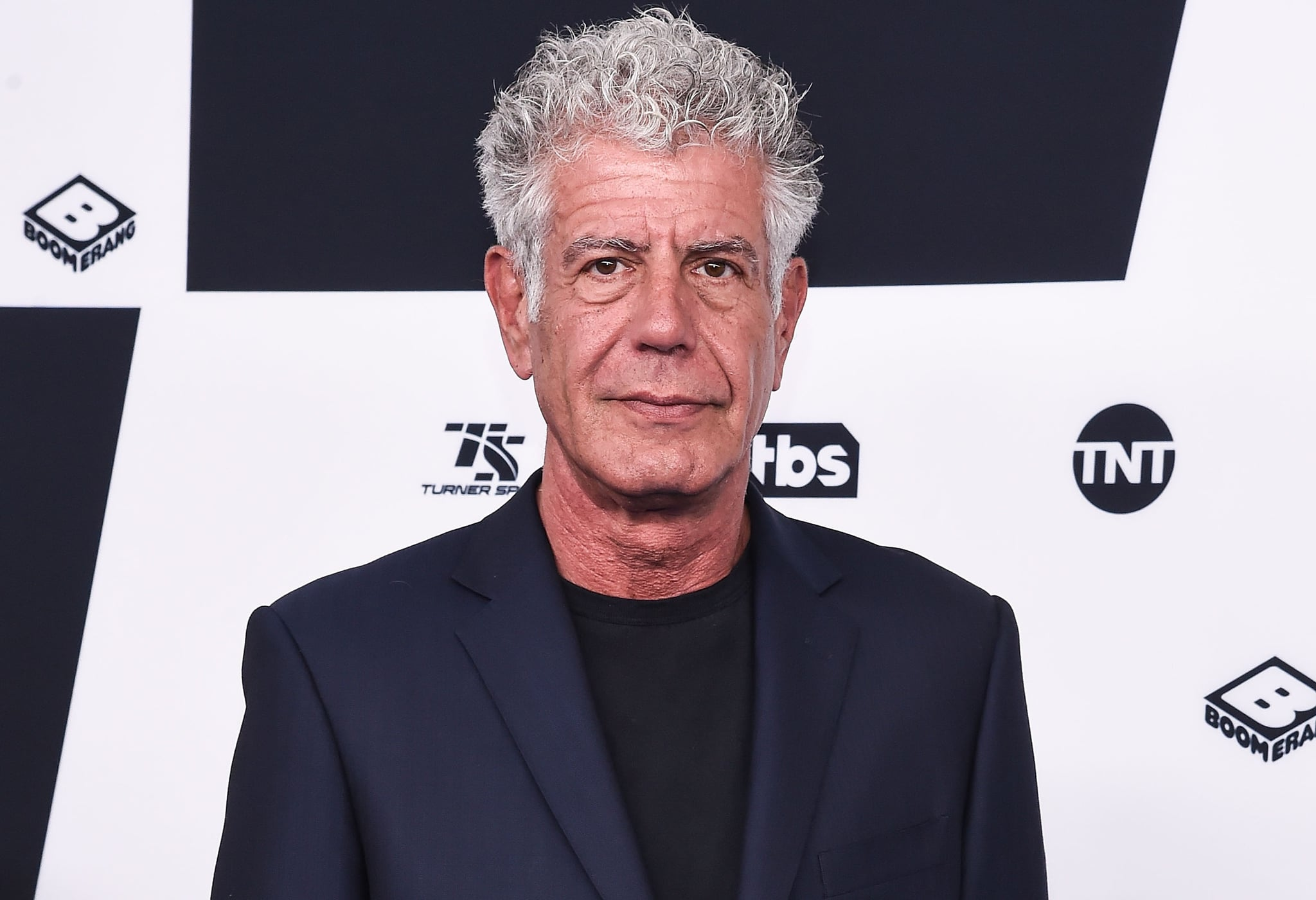 NEW YORK, NY - MAY 17:  Anthony Bourdain attends the 2017 Turner Upfront at Madison Square Garden on May 17, 2017 in New York City.  (Photo by Daniel Zuchnik/WireImage)