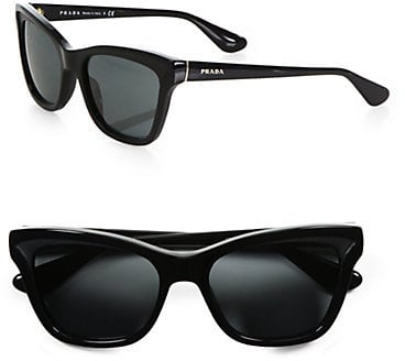 Prada Square Cat's-Eye Sunglasses ($290)