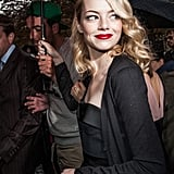 Emma Stone at the Miu Miu Fashion Show | Pictures