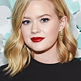 Ava Phillippe's Bold Red Lips in 2018