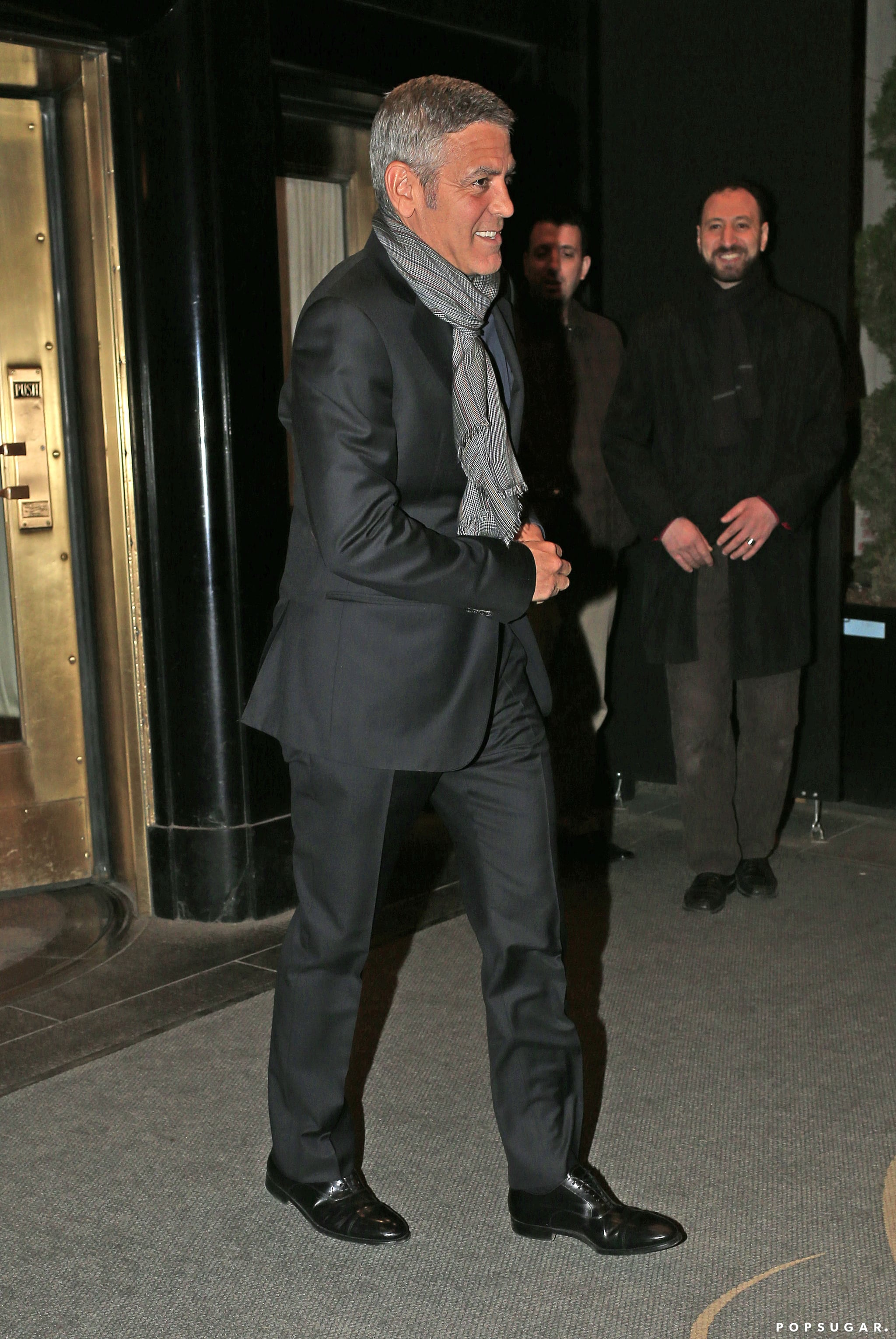 George Clooney and His New Lady Have the Look of Love