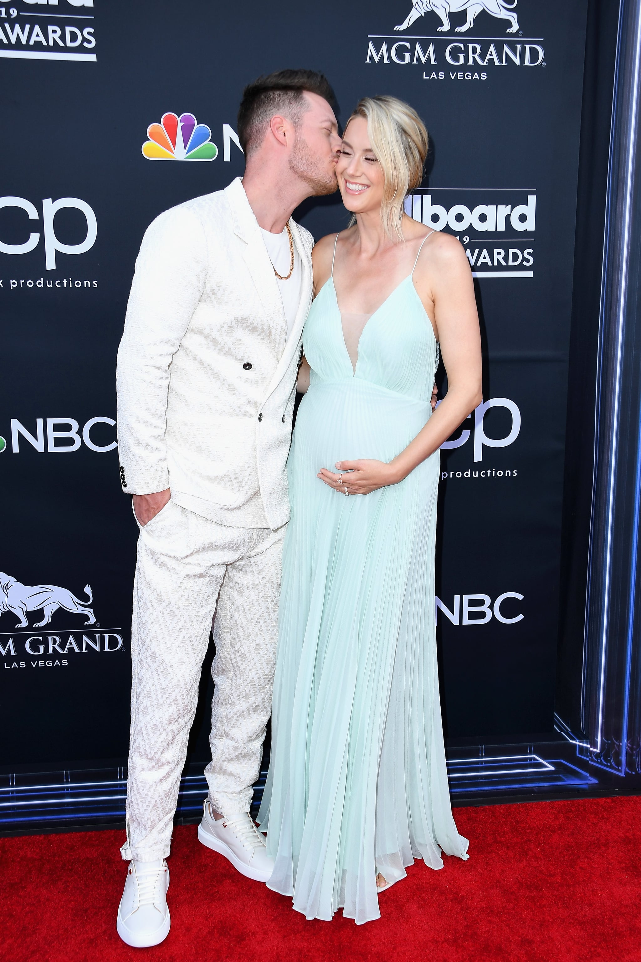 LAS VEGAS, NV - MAY 01:  (L-R) Tyler Hubbard of Florida Georgia Line and Hayley Stommel Hubbard attend the 2019 Billboard Music Awards at MGM Grand Garden Arena on May 1, 2019 in Las Vegas, Nevada.  (Photo by Steve Granitz/WireImage)