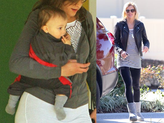 Photos of Elin Nordegren and Charlie Woods With His Nanny in Florida