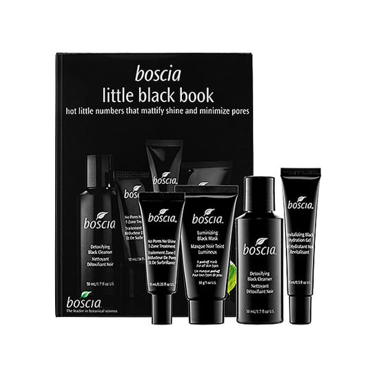 Make your pores happy with Boscia's Little Black Book ($48, originally $53). The cleanser, spot treatment, moisturizer, and mask all work together to mattify an oily complexion and detoxify clogged pores.