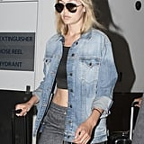 Prepare to Obsess Over Gigi Hadid's Sexy Airport Outfit