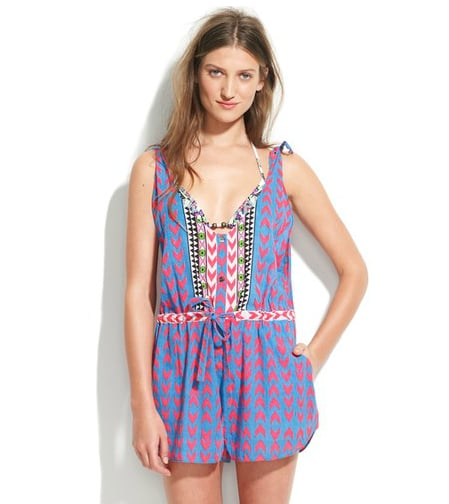"""""""Oh, Mara Hoffman; I just can't quit you, or your gorgeous prints. This romper is coming with me everywhere, from the beach to Sunday brunch with my girlfriends. I'm even trying to make it work for the office with a white blazer and wedges."""" — Brittney Stephens, assistant editor  Mara Hoffman Printed Jumper ($194)"""