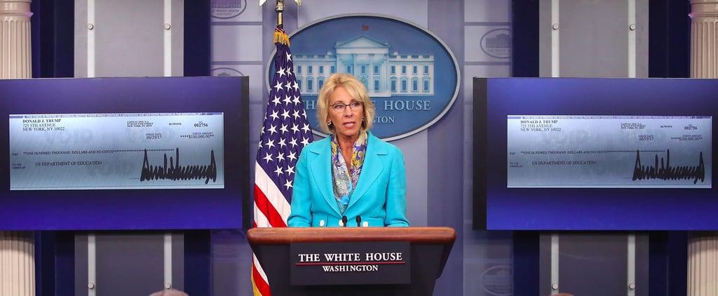 Betsy DeVos Remarks on Title IX Overhaul of Obama-Era Rules