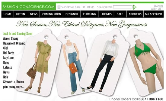 Fab Site: Fashion-Conscience.com
