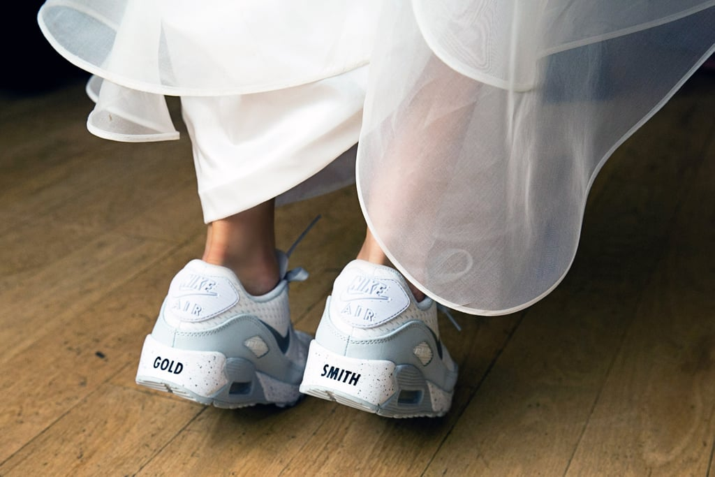 Slip Into a Pair of One-of-a-Kind Wedding Sneakers