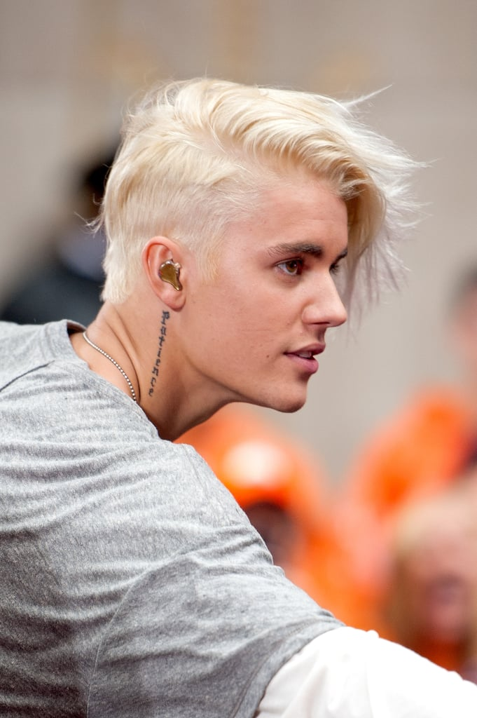 Justin Biebers Best Hairstyles POPSUGAR Beauty - Justin bieber hairstyle right now
