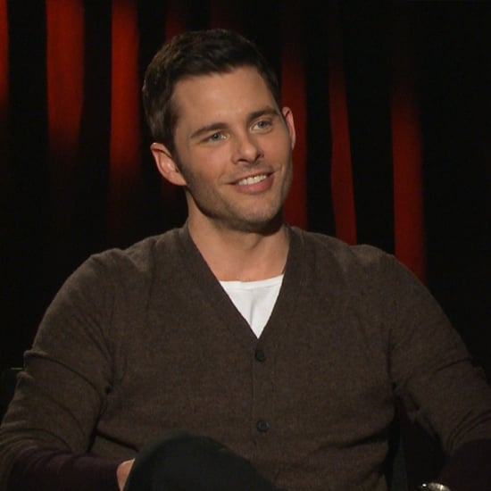 James Marsden Anchorman 2 Interview | Video